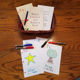 Fun Baby Shower Activity Game, Alphabet Book Keepsake for Boy or Girl