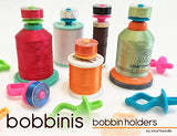 Smartneedle Original BOBBINIS Bobbin Holders - for L, M, and A bobbins - 60 pieces