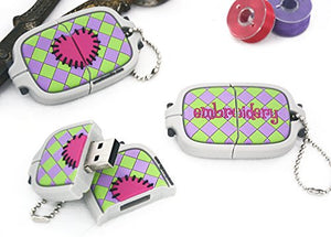 Smartneedle USB Flash Drive - Embroidery Hoop - 4GB - USBHOOP4GB