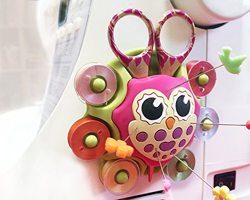 Smartneedle Sewing Organizer Caddy and Pincushion - Owl - SNESSCOWL