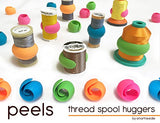 Smartneedle Peels - Thread Spool Huggers for Thread Tails - 12 pieces