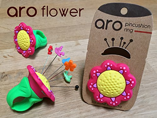Smartneedle Pincushion for Sewing and Quilting - ARO Flower - SNAROFLO