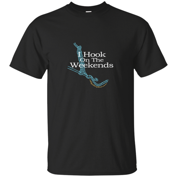 Hook on the Weekends - T-shirt, Unisex