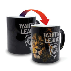 Wartime Leader Lion - Valuetainment - Color Changing Mug