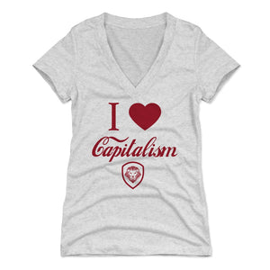 Valuetainment Women's V-Neck T-Shirt | 500 LEVEL