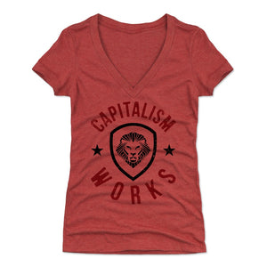 Patrick Bet-David Women's V-Neck T-Shirt | 500 LEVEL