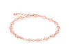 Rose Gold Pebble Bracelet