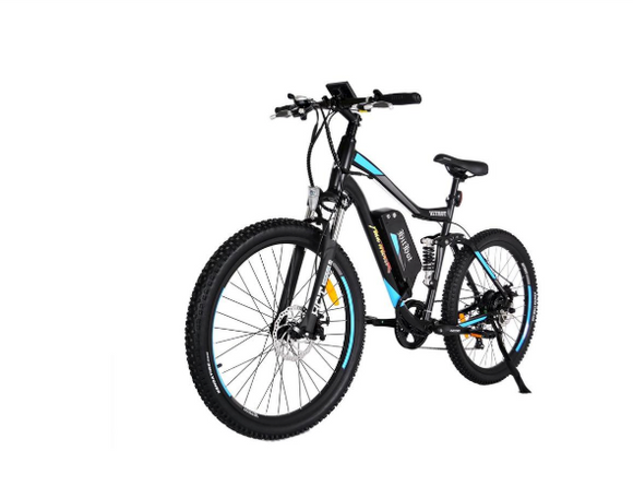 Hit Hot H1 500W 48V Dual-Suspension 27.5 Inch Electric Mountain Bike