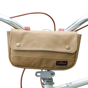 Wax Canvas Vintage Bike Panniers Bicycle Handlebar Bag water resistant
