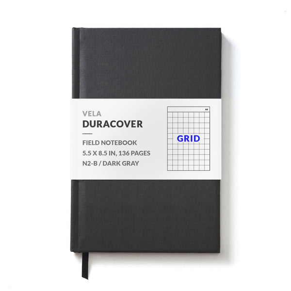 Vela N2-B DuraCover Hardcover Field Notebook, Grid