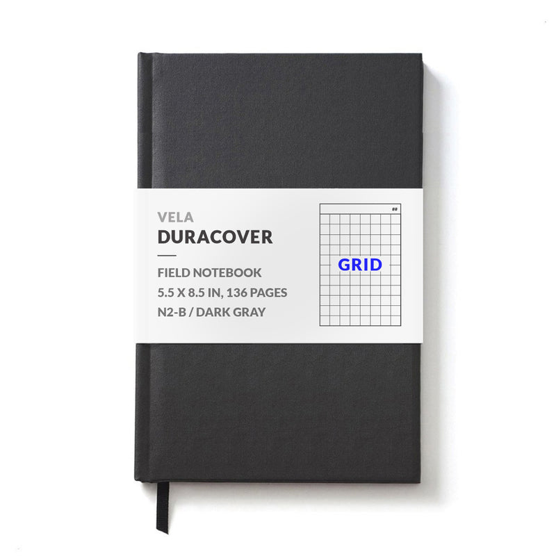 Vela N2-B Advanced DuraCover Hardcover Field Notebook, Grid