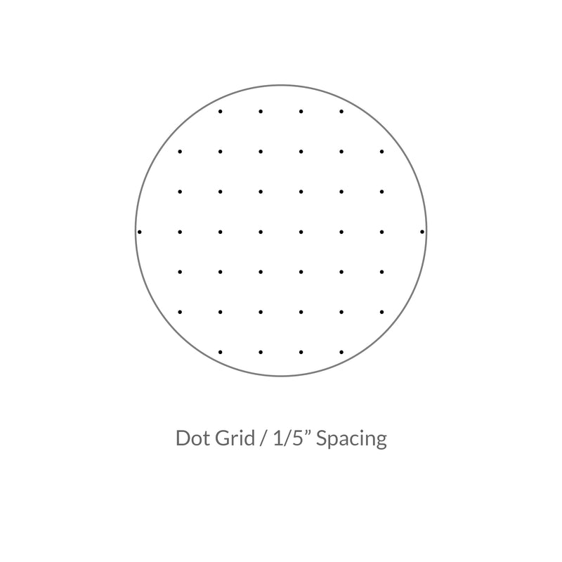 "Vela Graph Sheets, 8.5 x 11 in, 50 Sheets, 1/5"" Dot Grid"