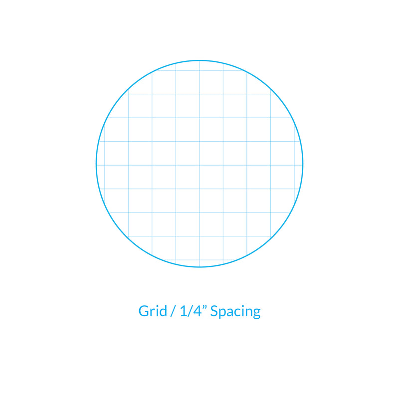 "Vela Graph Sheets, 11 x 17 in, 50 Sheets, 1/4"" Grid"