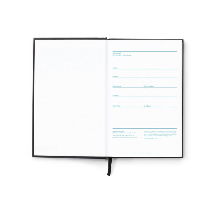 Vela N2-B DuraCover Hardcover Field Notebook, Grid - Vela Sciences
