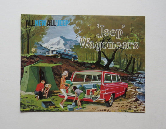 1962 Jeep Wagoneers Brochure