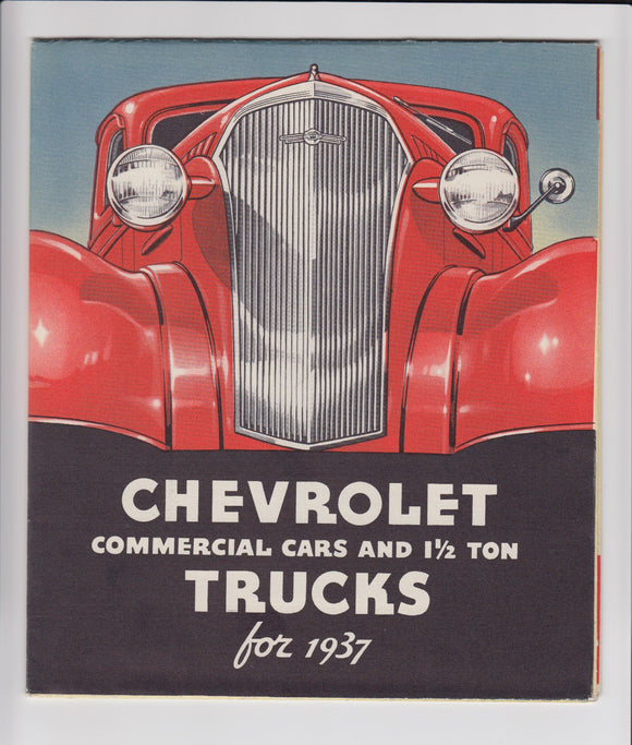 Chevrolet Commercial Trucks Vintage Car Brochures