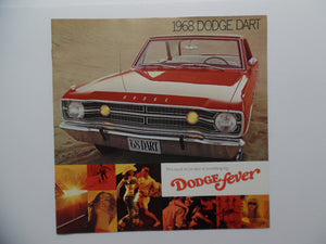 1968 Dodge Dart GTSport Car Brochure