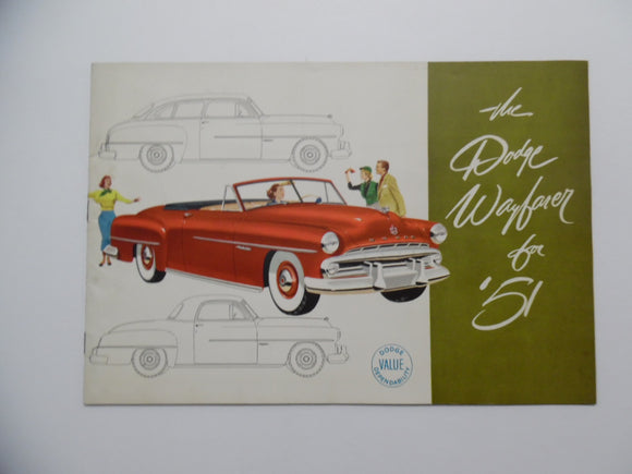 1951 Dodge Wayfarer Brochure