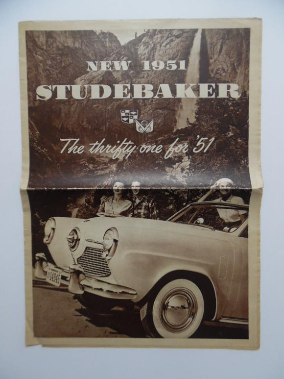 1951 Studebaker Champion Commander Car Brochure