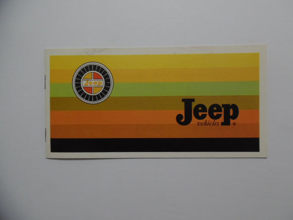 1967 Jeep Full Line Car Brochure Wagoneer Jeepster Commando