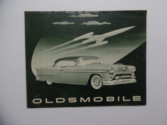 1954 Oldsmobile Car Brochure 88 Ninety-Eight
