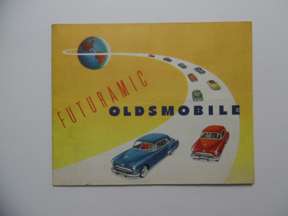 1949 Oldsmobile Full Line Brochure 98 88 76