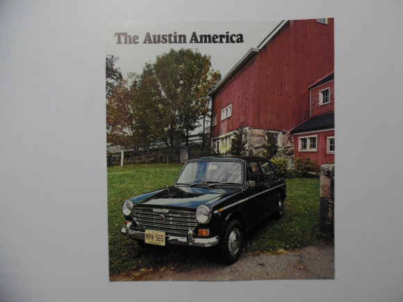1969 MG Austin America Car Brochure