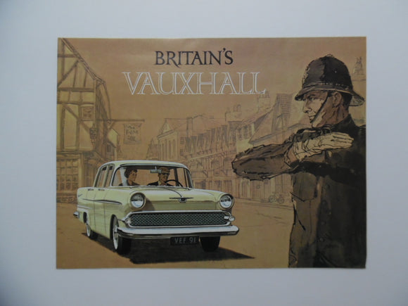 1960 Vauxhall Car Brochure Victor Super Estate Wagon