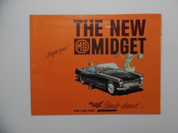 1962 Morris Garages Midget Car Brochure