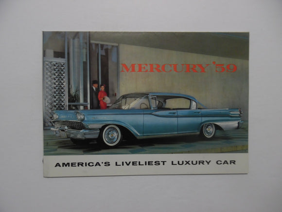 1959 Mercury Brochure Park Lane Montclair Monterey