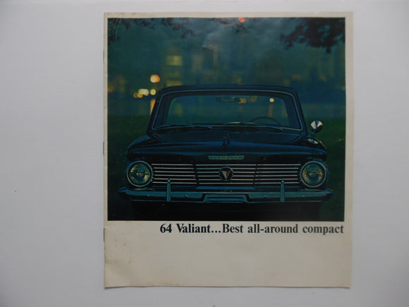 1964 Plymouth Valiant Brochure