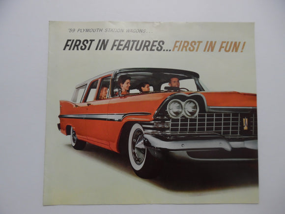 1959 Plymouth Station Wagons Brochure