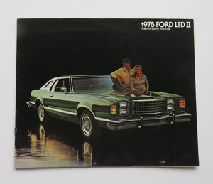 1978 Ford LTD II Brochure