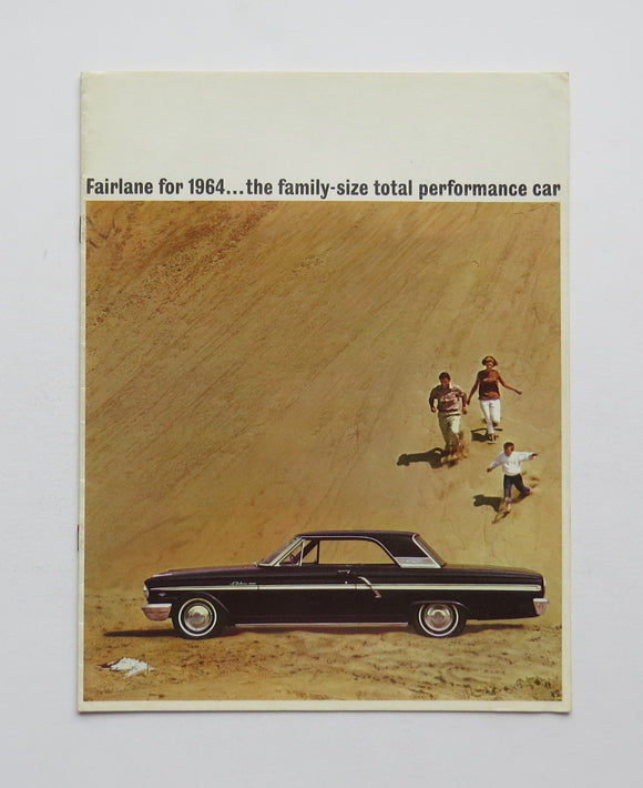 1964 Ford Fairlane Brochure 500 Wagon
