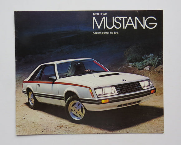 1980 Ford Mustang Brochure