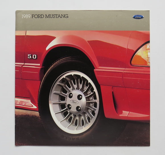 1989 Ford Mustang Brochure