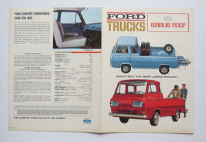 1963 Ford Econoline Pickup Brochure