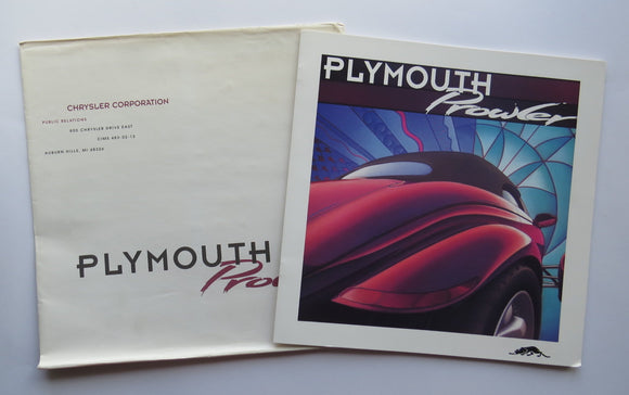 1977 Chrysler Plymouth Prowler Brochure