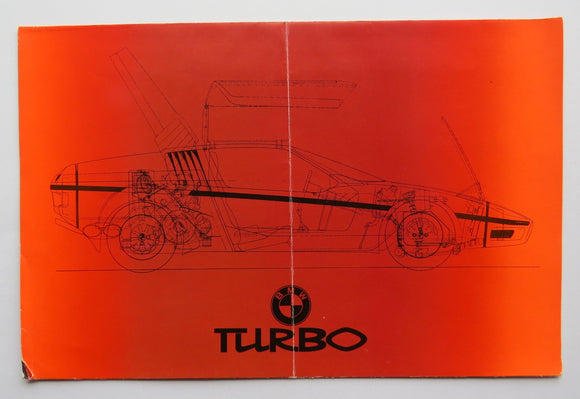 1972 BMW Turbo Concept Brochure