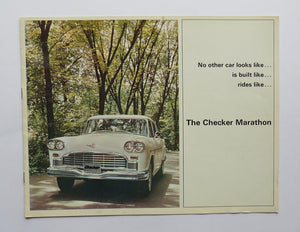 1968 Checker Marathon Brochure