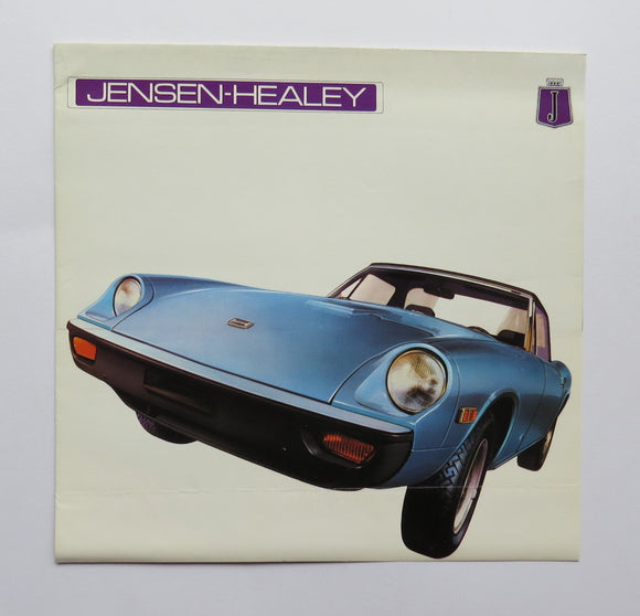 1973 Jensen Healey Sales Brochure