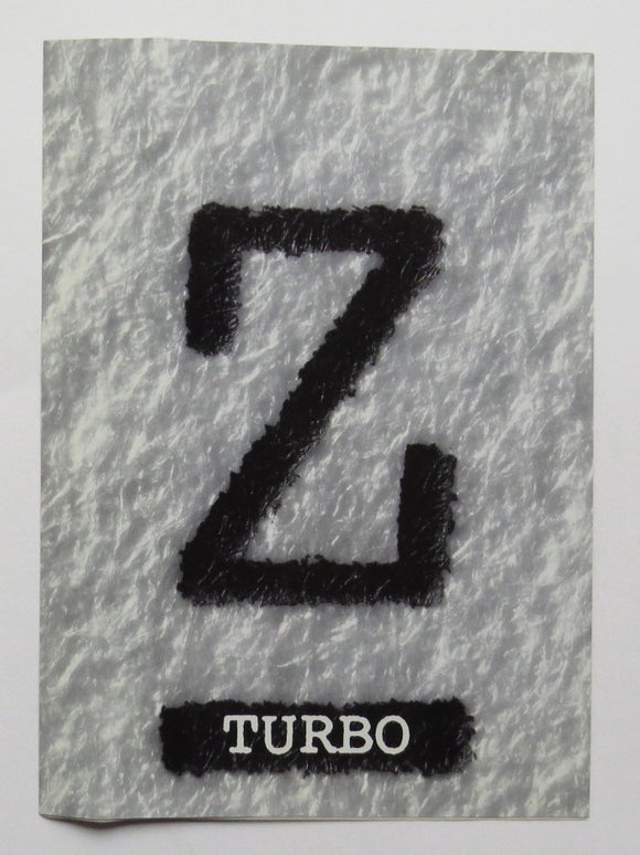 1990 Nissan Z Turbo Brochure