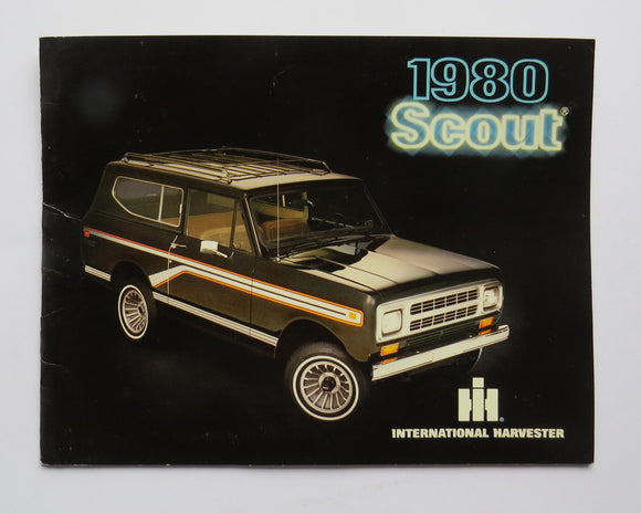 1980 International Harvester Scout Brochure II Terra
