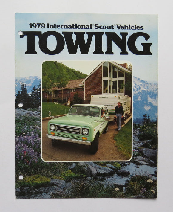 1979 International Harvester Scout Towing Brochure II Terra