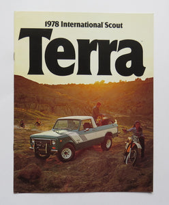 1978 International Harvester Scout Terra Brochure