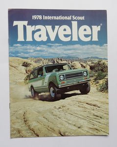 1978 International Harvester Scout Traveler Brochure