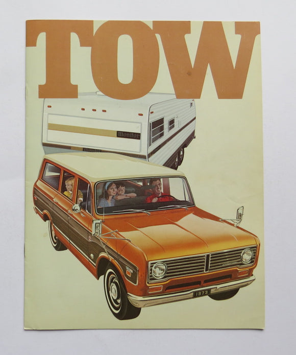 1973 International Harvester Tow Brochure 1010 1110 1210