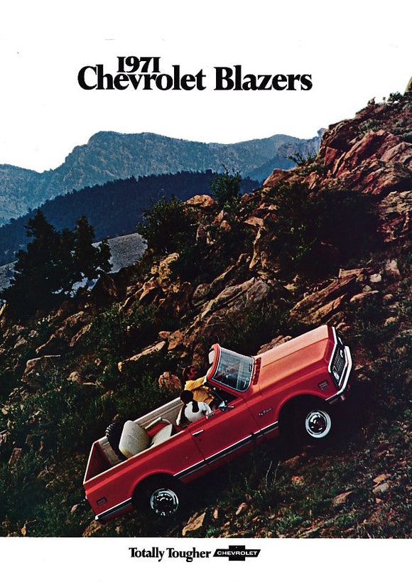 1971 Chevrolet Blazer Full Line Brochure