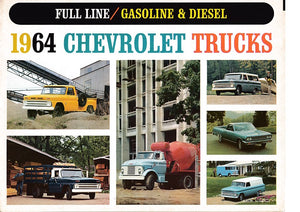 1964 Chevrolet Gas & Diesel Truck Full Line Brochure