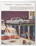 1959 Lincoln Brochure Preimier Mark IV Continental